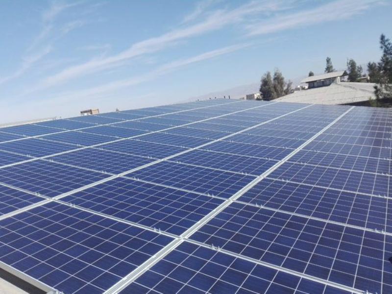 تولید سالانه 2 میلیون کیلو وات برق خورشیدی در خراسان شمالی